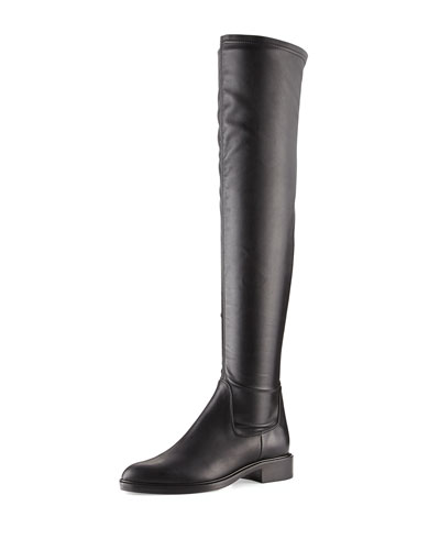 Gisele Weatherproof Over-the-Knee Boot, Black