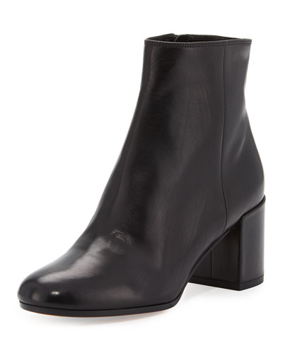 Blakely Leather Ankle Boot, Black