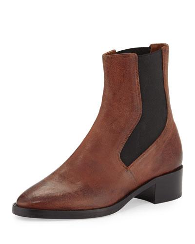 Carrington Leather Chelsea Boot, Camel