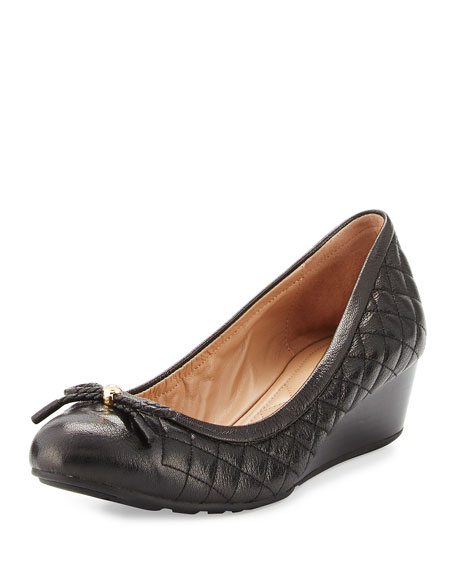 Cole Haan Tali Grand Quilted Wedge Pump, Black