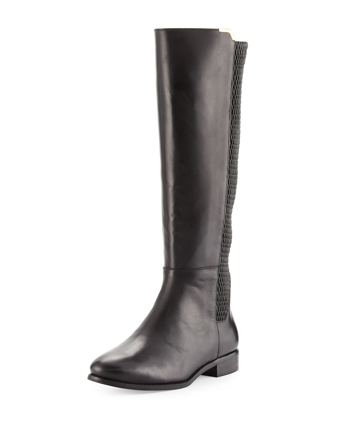 3812e1a42cb Rockland Leather Knee Boot, Black