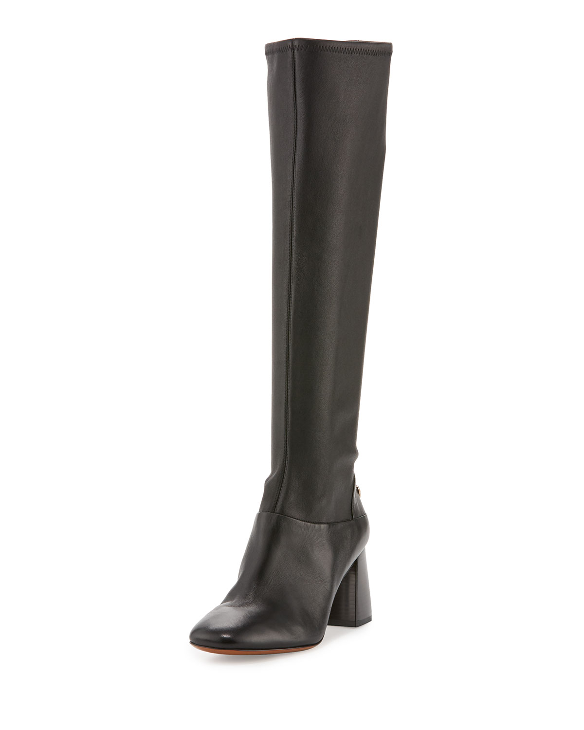 d34bb9101837 Tory Burch Sidney Leather 70mm Knee Boot