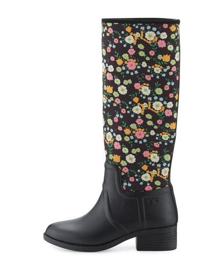 April Floral Rain Boot, Vilette