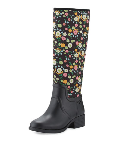 April Floral Rain Boot, Vilette