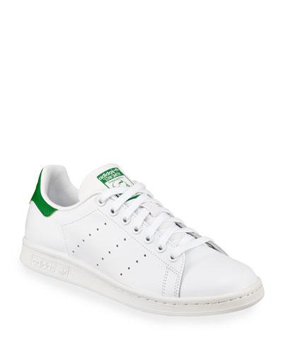 Stan Smith Classic Sneaker, White/Green
