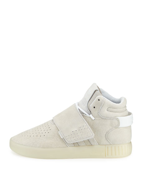 Adidas Tubular Invader Strap Shoes Beige adidas US