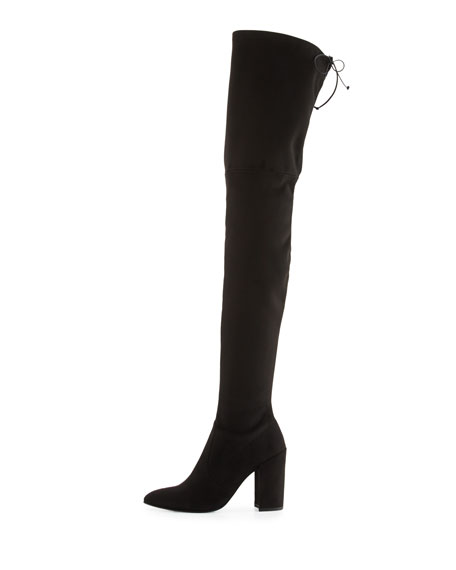 Alllegs Ultrastretch Over-the-Knee Boot, Noir
