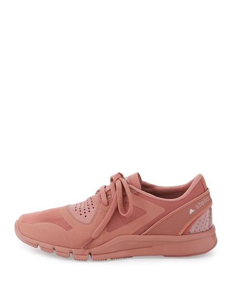 Alayta Neoprene Low-Top Sneaker, Plaster Pink