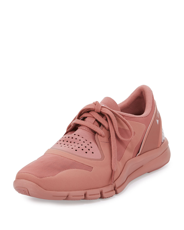 online store 56032 1a9fb adidas by Stella McCartneyAlayta Neoprene Low-Top Sneaker, Plaster Pink