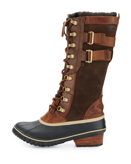 Conquest™ Carly II Knee Boot, Umber