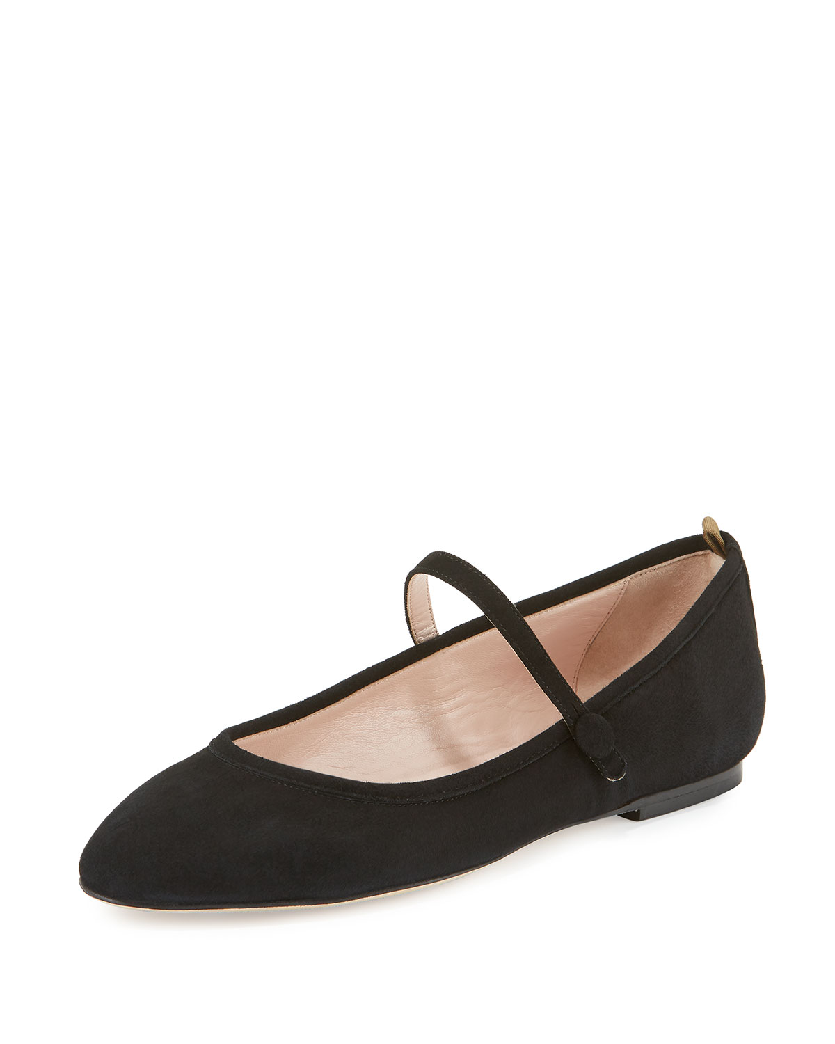 SJP by Sarah Jessica Parker Sashay Suede Mary Jane Flat