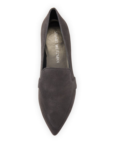 Pipelopez Pointed-Toe Loafer, Slate