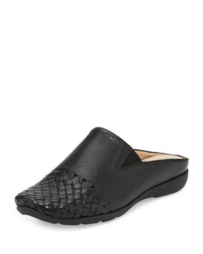 Gabor Woven Mule Sneaker, Black