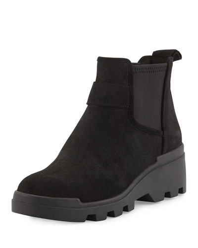 Swish Water-Resistant Chelsea Boot, Black