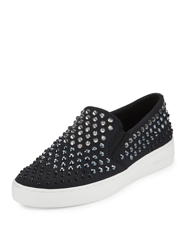 michael kors embellished sneakers