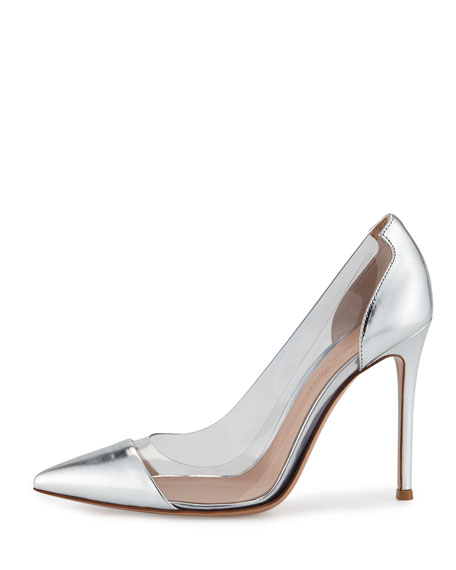 Plexi Metallic Illusion 105mm Pump, Silver