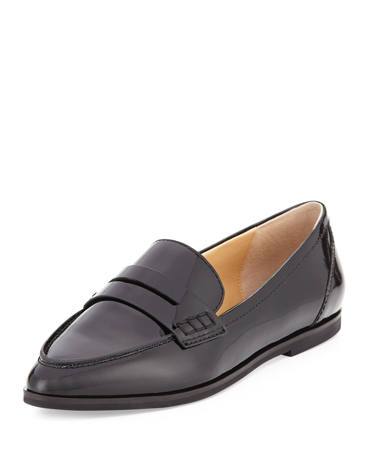 ba5703ce460 MICHAEL Michael Kors Connor Patent Leather Penny Loafer