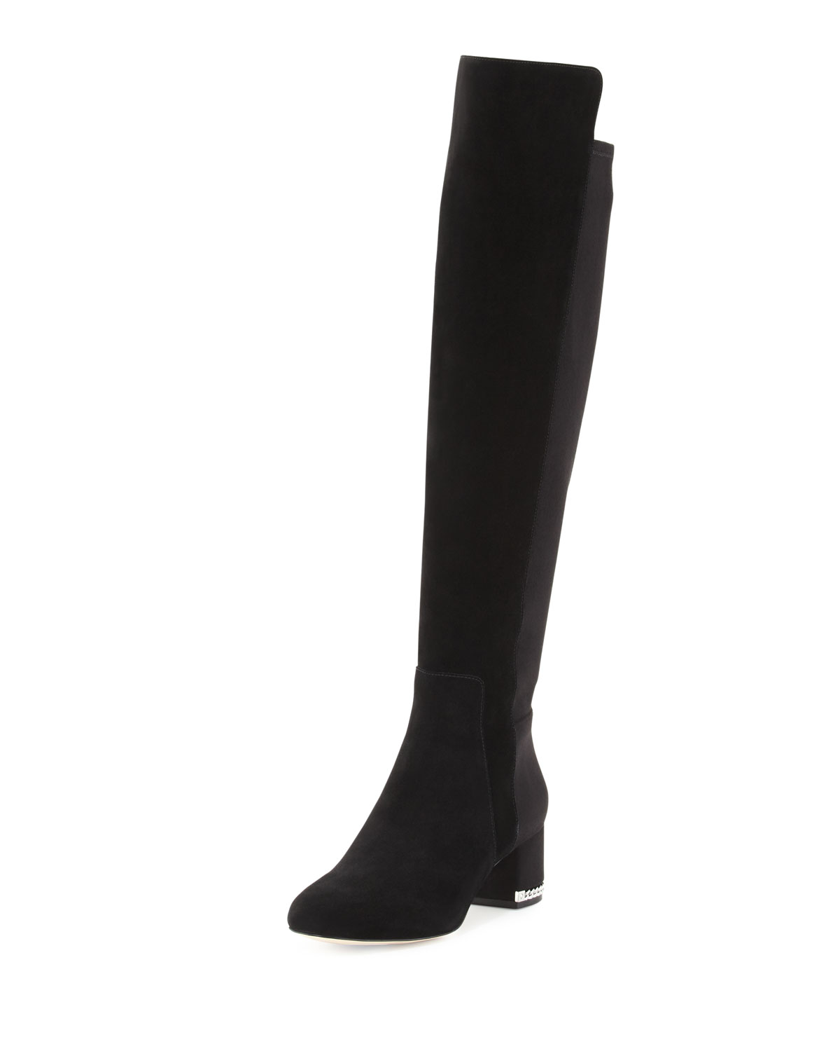 a492cd7956 MICHAEL Michael Kors Sabrina Suede Over-the-Knee Boot, Black ...