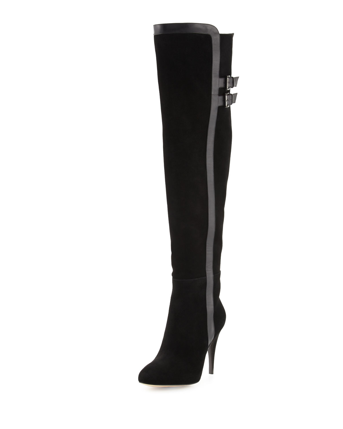 6c05b0a48460 MICHAEL Michael Kors Delaney Suede Over-the-Knee Boot