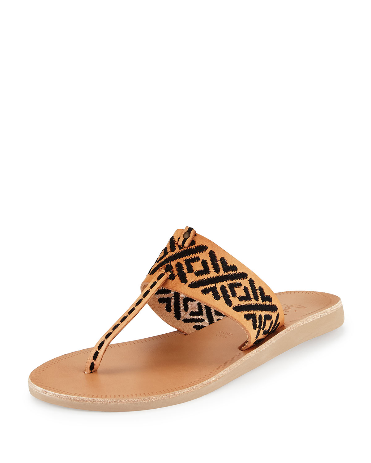 excellent online Joie Embroidered Thong Sandals clearance shop sale recommend sale clearance 3ocWm