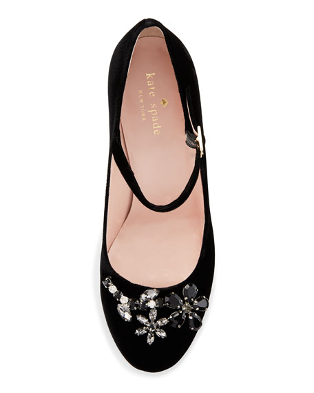 dd0c1d9060cb kate spade new york ballina crystal velvet mary jane pump