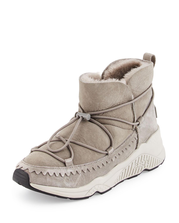 Ash Mitsouko Shearling Sneaker Bootie