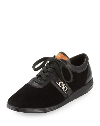 Bria Grand Sport Oxford Sneaker, Black