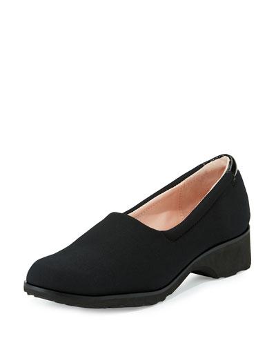 Tutu Comfort Slip-On Flat, Black