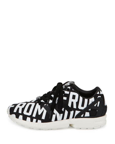 ZX Flux Rita Ora Sneaker, Core Black/Off White