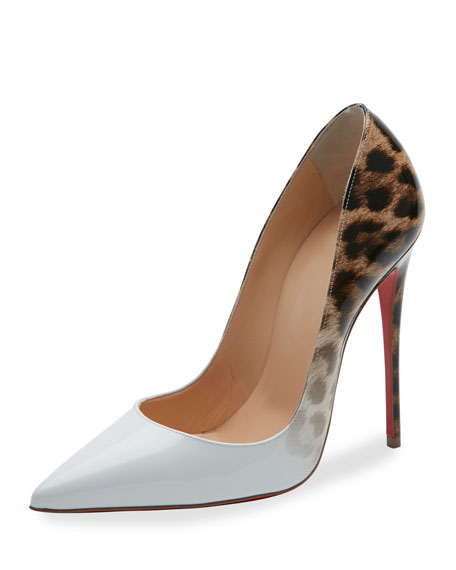 Christian Louboutin So Kate Degrade 120mm Red Sole