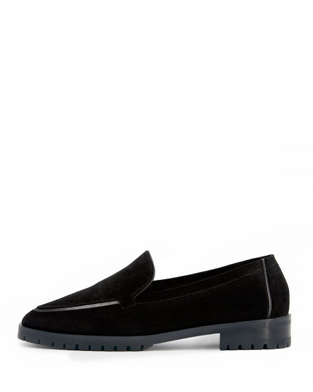 Cory Suede Loafer, Black