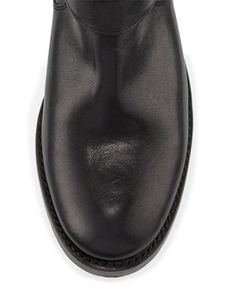 Natalie Mid Engineer Boot, Black