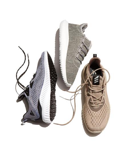 Tubular Shadow Knit Sneaker, Gray/Running White