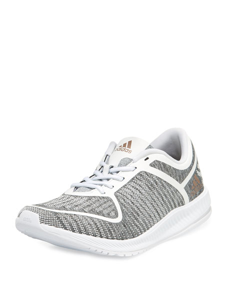 Adidas Athletics Bounce Lace-Up Sneakers, Light Gray