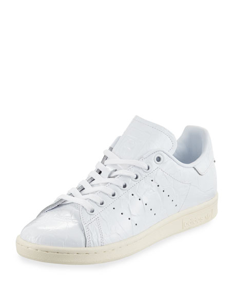 Adidas Stan Smith Fashion Sneaker, Core Running White/Off