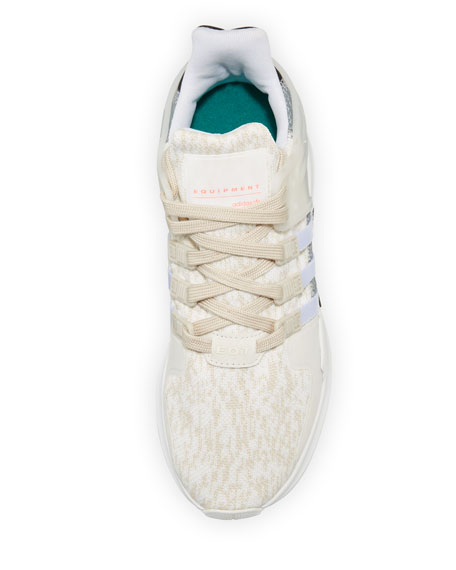 Equipment Support Knit Sneaker, Clear Brown/White/Gray
