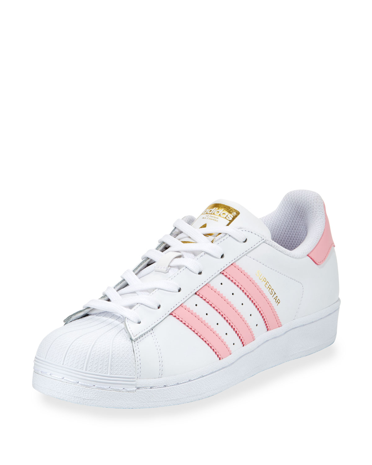 Adidas Superstar 80s (Black, White & Gold Metallic) End