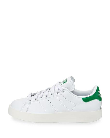 Adidas Stan Smith Bold Fashion Sneaker, White/Green