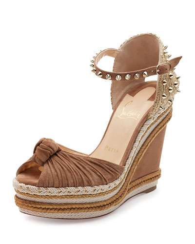 Women's Wedges: Peep-toe & Heels at Neiman Marcus
