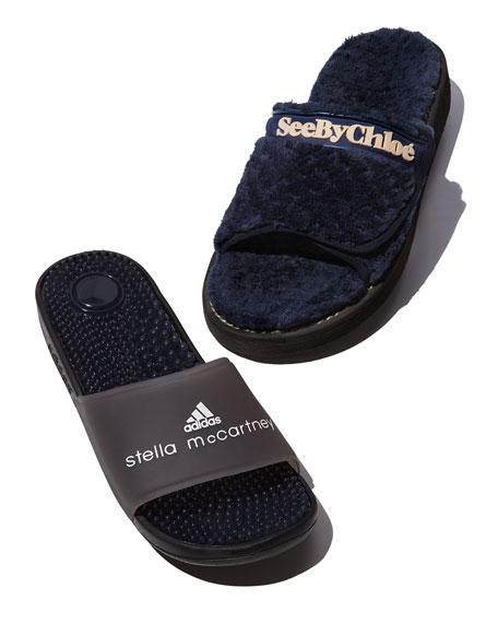 Recovery Molded Slide Sandal, Black
