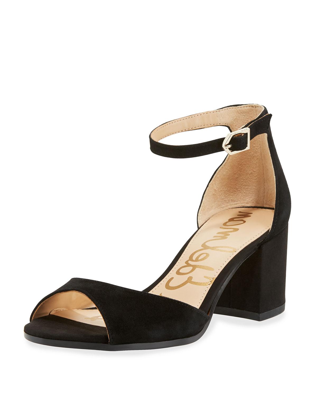881a61aecdc7 Sam Edelman Susie Ankle-Strap Block-Heel Sandal