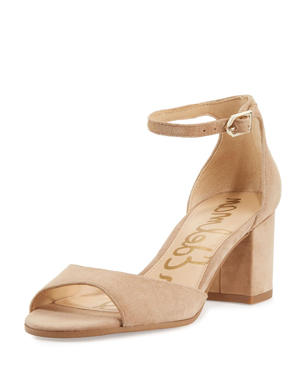 9b161a69a586 Sam Edelman Susie Ankle-Strap Block-Heel Sandal
