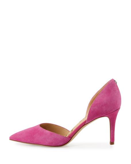 Telsa Leather d'Orsay Pump, Pink