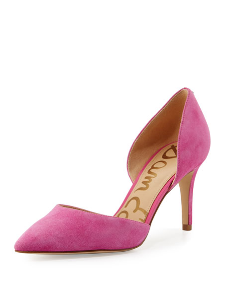 Telsa Leather d'Orsay Pump, Pink