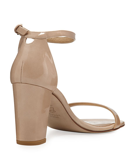 Nearlynude Patent City Sandal