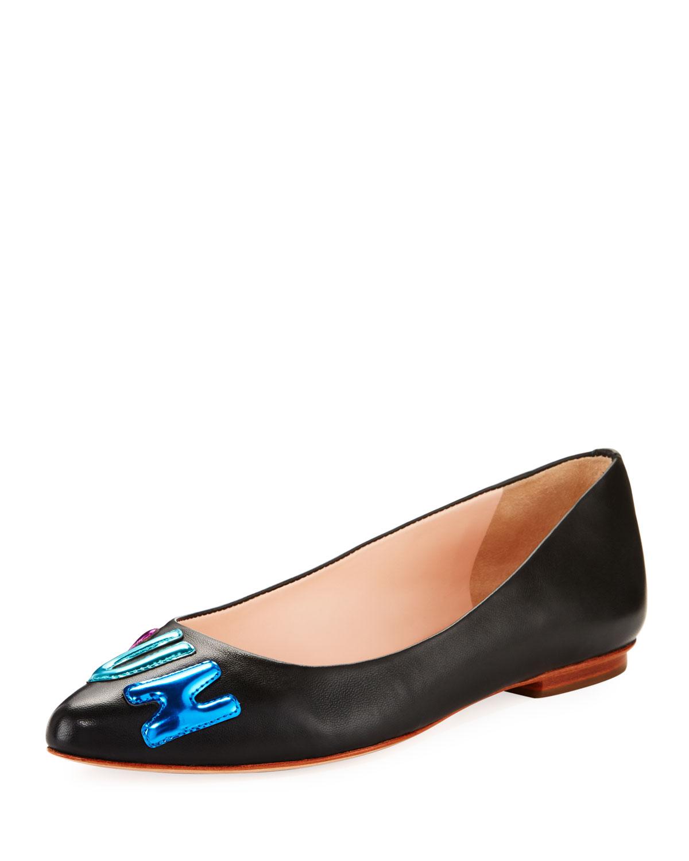 c97f7575a kate spade new york elliot fun Ballet Flat, black | Neiman Marcus