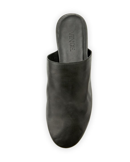 Oren 2 Leather Flat Mule