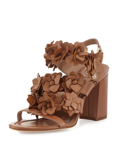 Blossom Leather 65mm Sandal
