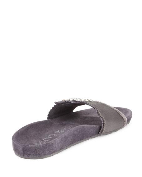 Arabela Crystal Slide Sandal