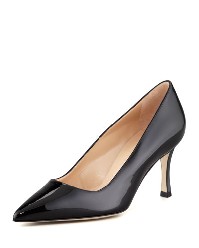 BB Patent 70mm Pump, Black